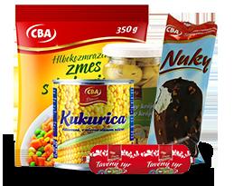 Tradičná kvalita výrobkov CBA